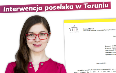 Interwencja w sprawie Układu Zbiorowego w Toruniu