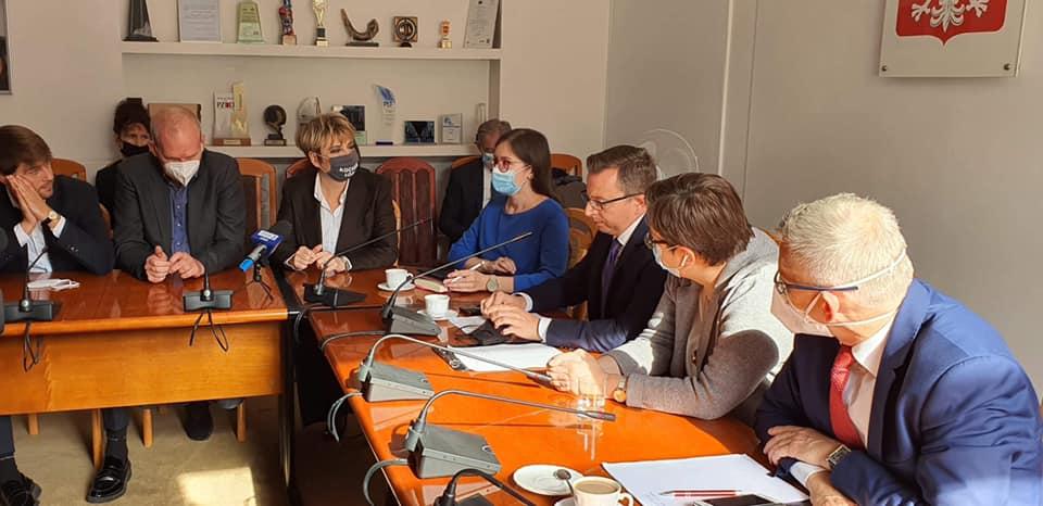 Posiedzenie wyjazdowe Łódzkiego Zespołu Parlamentarnego