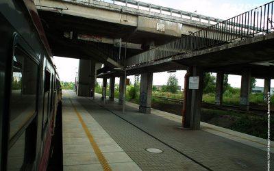 Stacja kolejowa Łódź-Dąbrowa znów z problemami