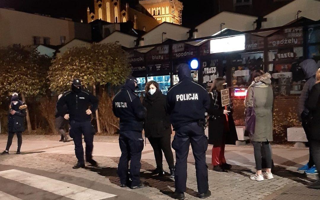 Olsztyn: interwencja w sprawie działań policji