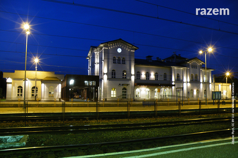 Dworzec kolejowy w Kutnie