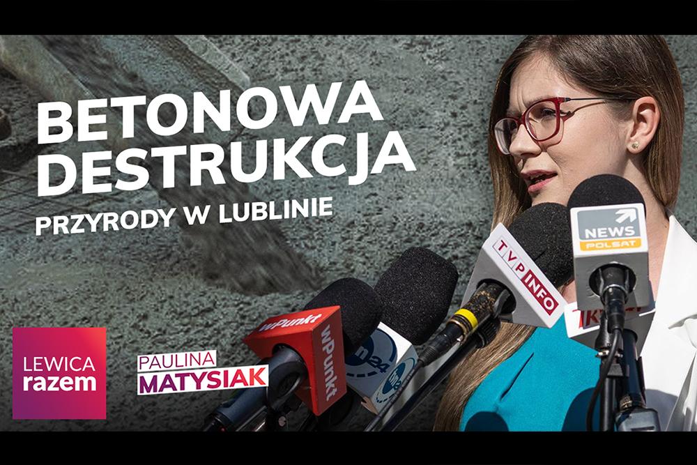 O betonozie w Lublinie na posiedzeniu Sejmu