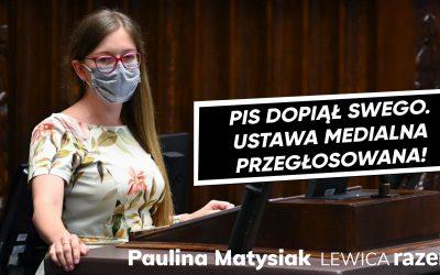 Ustawa medialna #LexTVN przegłosowana!